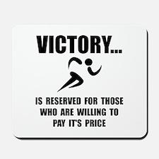 Victory Runner Mousepad