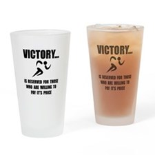 Victory Runner Drinking Glass