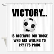 Victory Soccer Shower Curtain