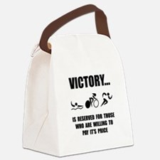 Victory Triathlon Canvas Lunch Bag