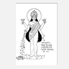 Lakshmi Postcards (Package Of 8)
