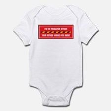 I'm the Officer Infant Bodysuit
