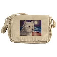 Dog 81 Westie Messenger Bag