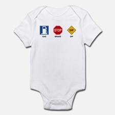 Gas Brake Dip II Infant Bodysuit