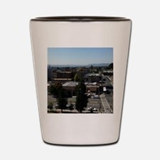 Bay Area view from Berkeley Shot Glass