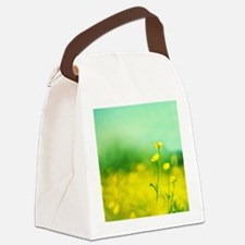 Smiling, Happy , Laughting Canvas Lunch Bag