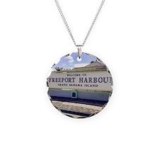 Freeport Harbour, Bahamas Necklace
