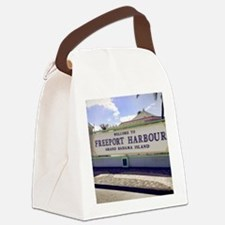 Freeport Harbour, Bahamas Canvas Lunch Bag