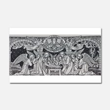 Nativity Scene Car Magnet 20 x 12