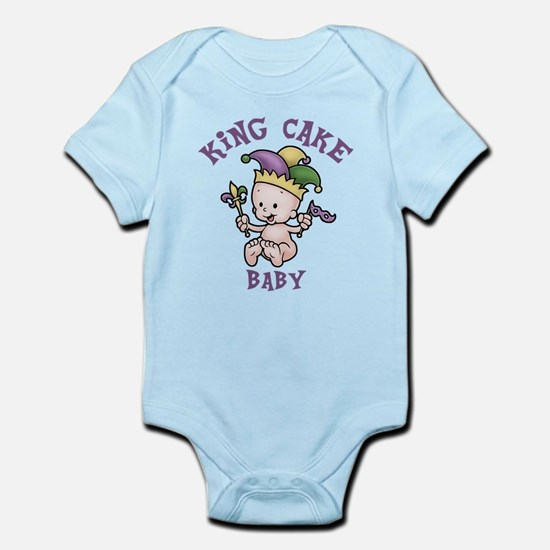King Cake Baby II Infant Bodysuit