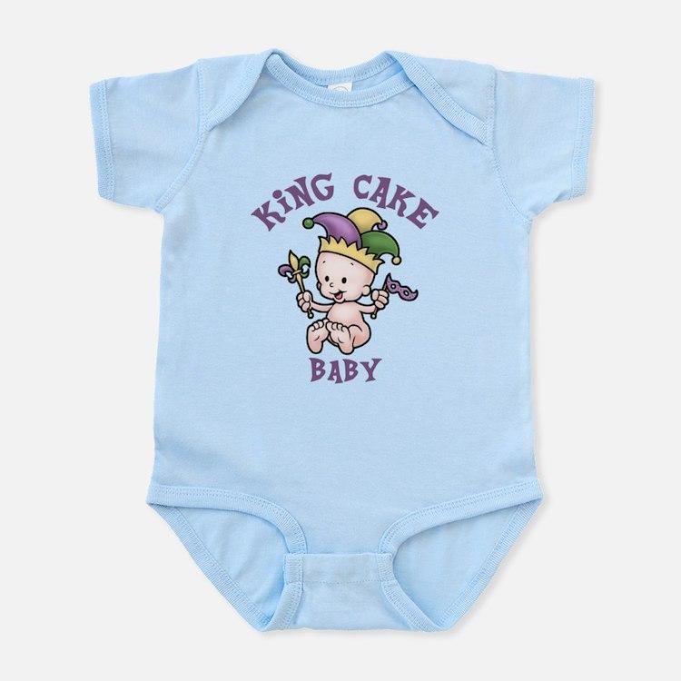 King Cake Baby II Infant Bodysuit