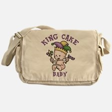 King Cake Baby II Messenger Bag