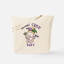 King Cake Baby II Tote Bag