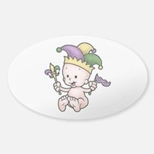 King Cake Baby II Decal