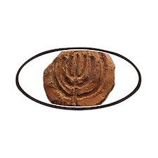 Ancient Menorah Patches
