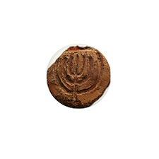 Ancient Menorah Mini Button (10 pack)
