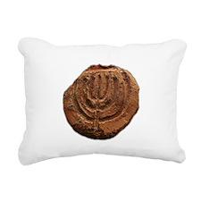 Ancient Menorah Rectangular Canvas Pillow