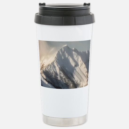 Ancient Snow Giant Stainless Steel Travel Mug