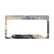 Ancient Snow Giant License Plate Holder