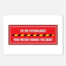 I'm the Psychologist Postcards (Package of 8)
