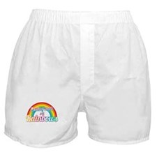 Getting High on RAINBOWS Boxer Shorts