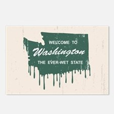 The Ever-Wet State Postcards (Package of 8)