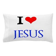 I Love Jesus Pillow Case