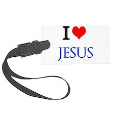I Love Jesus Luggage Tag