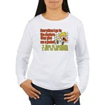 I like to Hug Myself Women's Long Sleeve T-Shirt