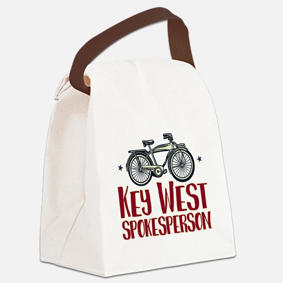 Key West Spokesperson Canvas Lunch Bag
