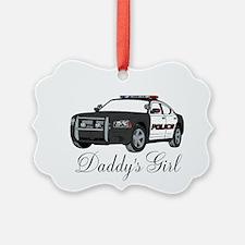 Daddys Girl Police Car Infant Bodysuit Ornament