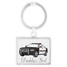 Daddys Girl Police Car Infant Bodysuit Keychains