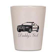 Daddys Girl Police Car Infant Bodysuit Shot Glass