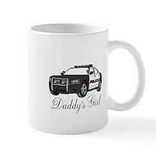 Daddys Girl Police Car Infant Bodysuit Mugs