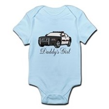 Daddys Girl Police Car Infant Bodysuit Body Suit