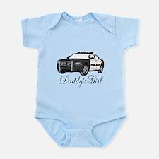Daddys Girl Police Car Infant Bodysuit Body Suit