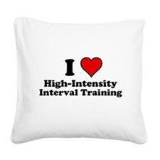 I Heart High-Intensity Interval Training Square Ca