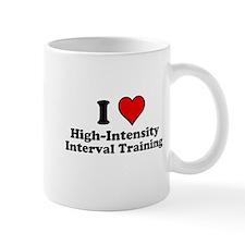 I Heart High-Intensity Interval Training Mugs