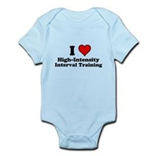 I Heart High-Intensity Interval Training Body Suit