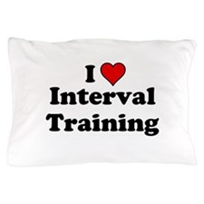 I Heart Interval Training Pillow Case