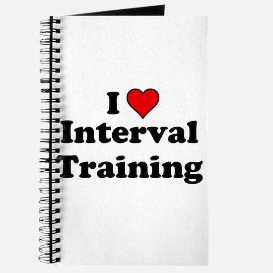 I Heart Interval Training Journal