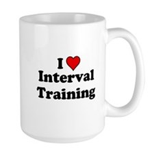 I Heart Interval Training Mugs