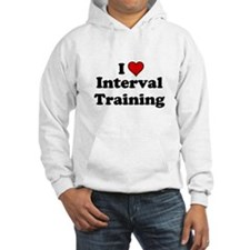 I Heart Interval Training Hoodie