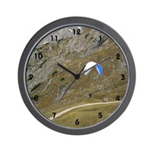 parachute flying Wall Clock