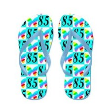 LOVELY 85TH Flip Flops