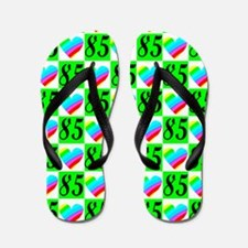 85TH PRETTY LOVE Flip Flops