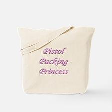 Pistol Packing Princess Tote Bag