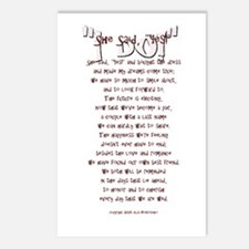 """""""I DO!"""" Postcards (Package of 8)"""