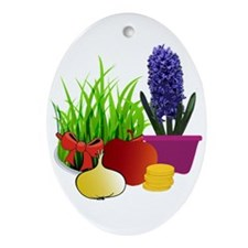 norooz 1 Ornament (Oval)