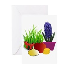 norooz 1 Greeting Cards